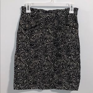 Elevenses 0 Skirt black cream